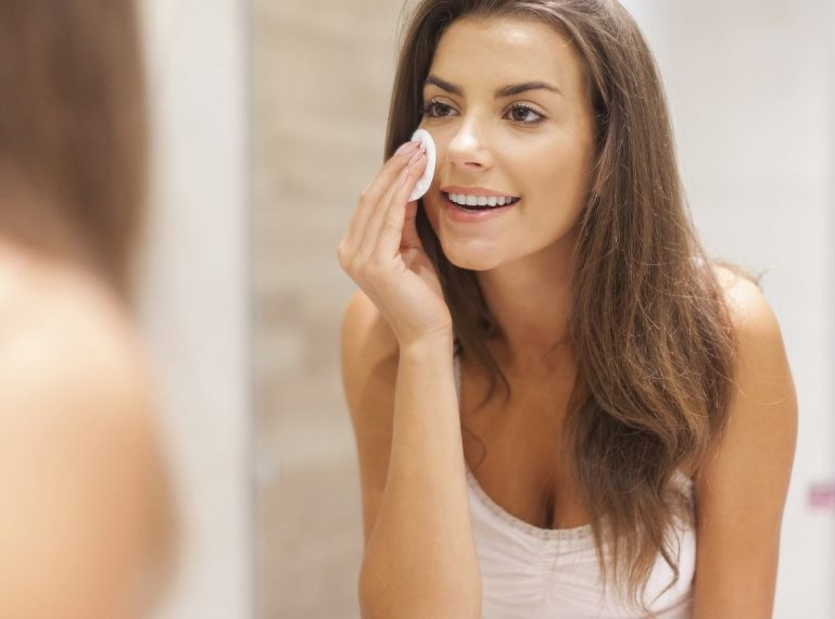 My evening skin care routine step by step – how to cleanse the skin properly