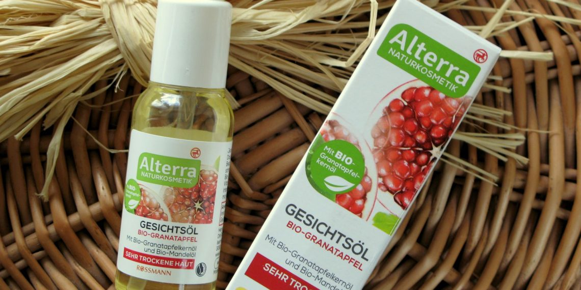 Hot or not? Alterra – Face oil with pomegranate